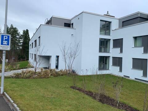 neues Studio mit wunderschöner Aussicht auf Zürich