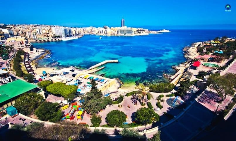 HEART OF SLIEMA, right next to Beach! - Tas-Sliema - Pis