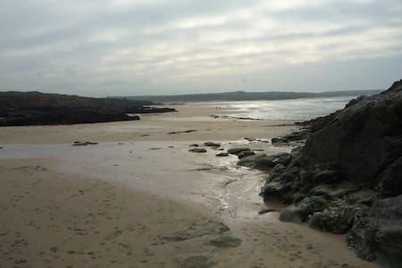 Sea, Surf and Sand dunes - Hayle