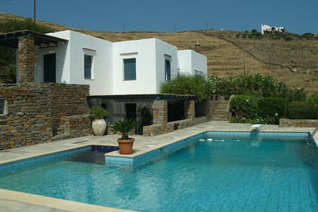 AMAZING VILLA WITH POOL IN KEA ISLAND - Kea Kithnos