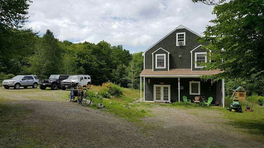 2 large rooms, 1 Q, 1 T, wifi - Wiscasset,  - Casa