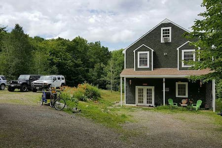 2 large rooms, 1 Q, 1 T, wifi - Wiscasset,  - House