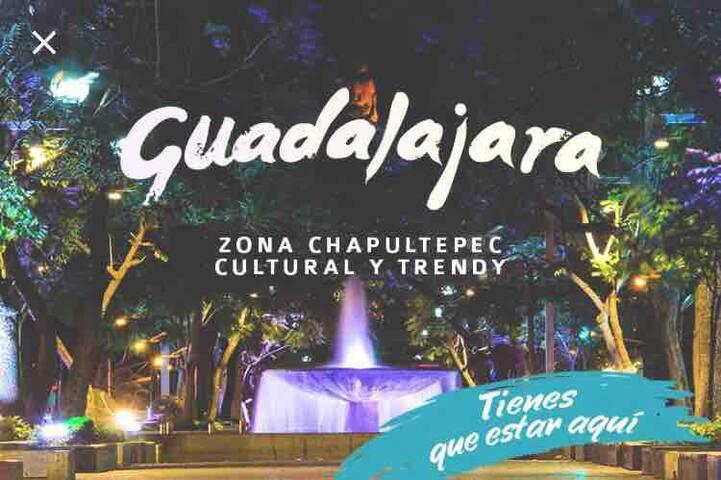 Depa Trendy en Paseo Chapultepec