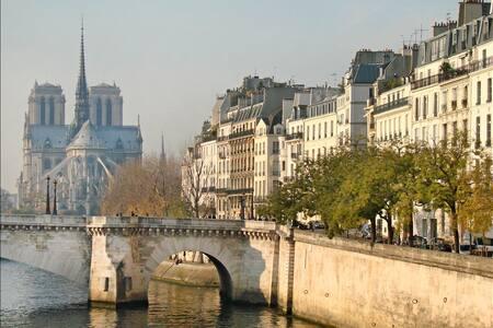 Ile Saint-Louis, studio de charme - Paryż - Apartament