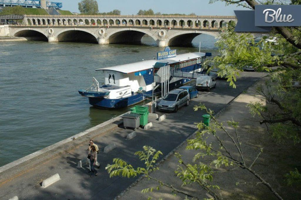 50 meters of the Seine river