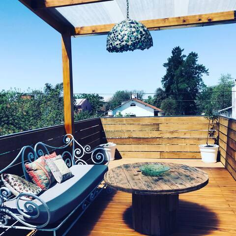 Habitación en Suite - Posada Gaviota