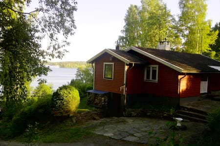 Lakeview house near Gothenburg - Hindås - Talo