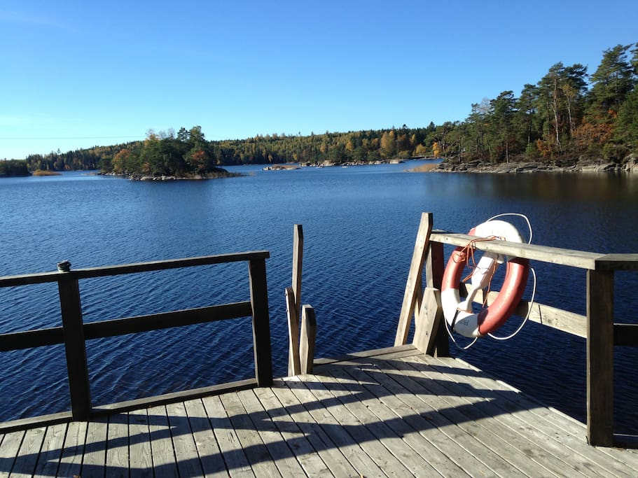 Plenty of lakes in the area for swimming or fishing.