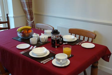 Twin bedded room - Hatherden - Bed & Breakfast