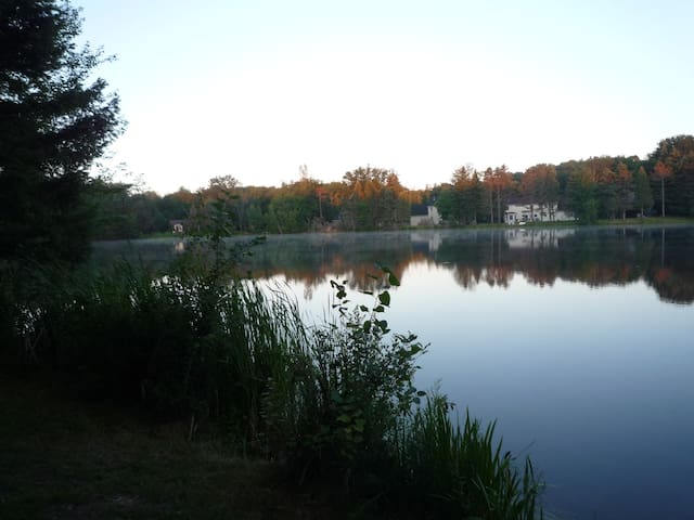 lake view from property (to the left)