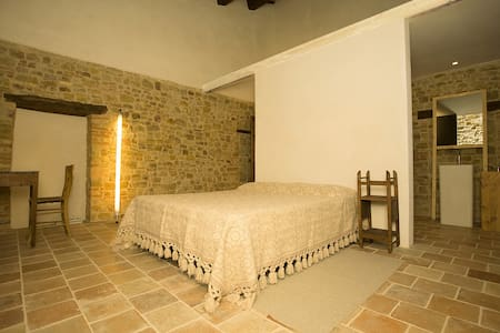 Stone farmhouse, L'Abbate room - Rumah