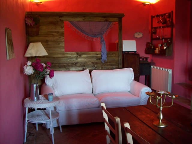 Romantic Apt among the vineyards - Tavernelle - Wohnung