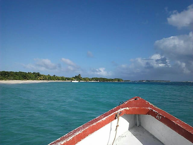 Water Taxi to island cayo icacos
