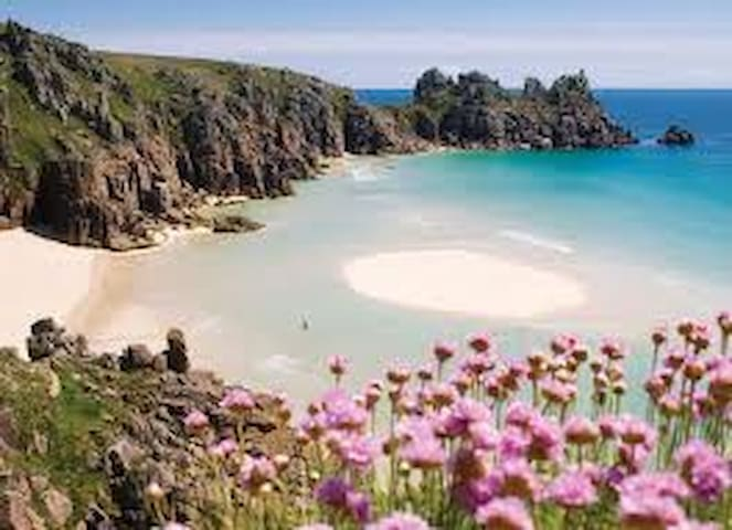 lovely Porthcurno near  Lands End  - Porthcurno