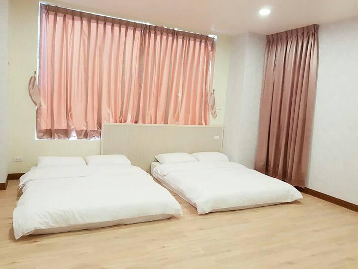 依蕾公園102-獨立舒適2~4人大空間套房