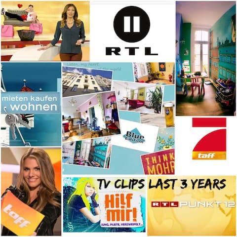TV Station RTL,VOX filmed - Colonia - Appartamento
