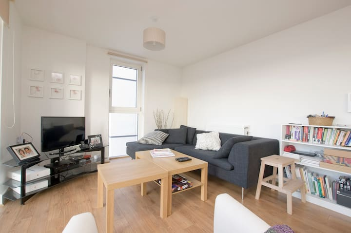 Entire flat & ensuite room with great view Dalston