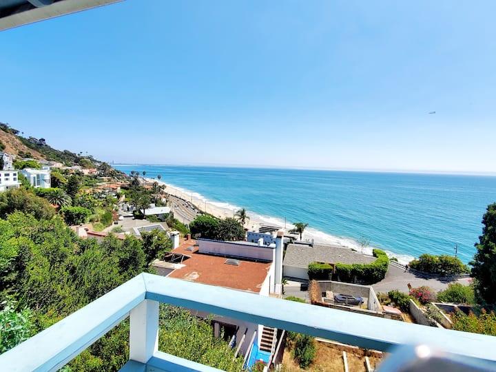 ✔ Sea, Sun+Ocean View house sleep 7/ 5min to beach