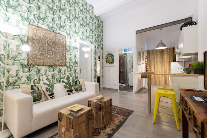 Cozy two-bedroom apartment