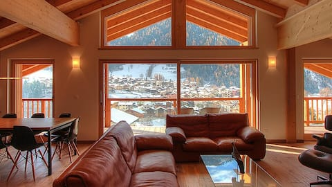 Luxury on the swiss mountains