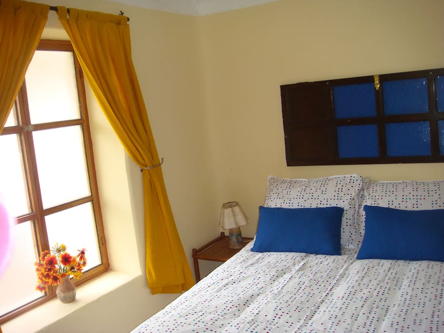 Guest Apartment Private cozy room with a queen size bed, with view of the mountains and cable tv,