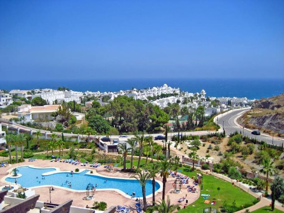 Spirit of mojacar e bajo ground condominiums for rent in for Apartamentos playa mojacar