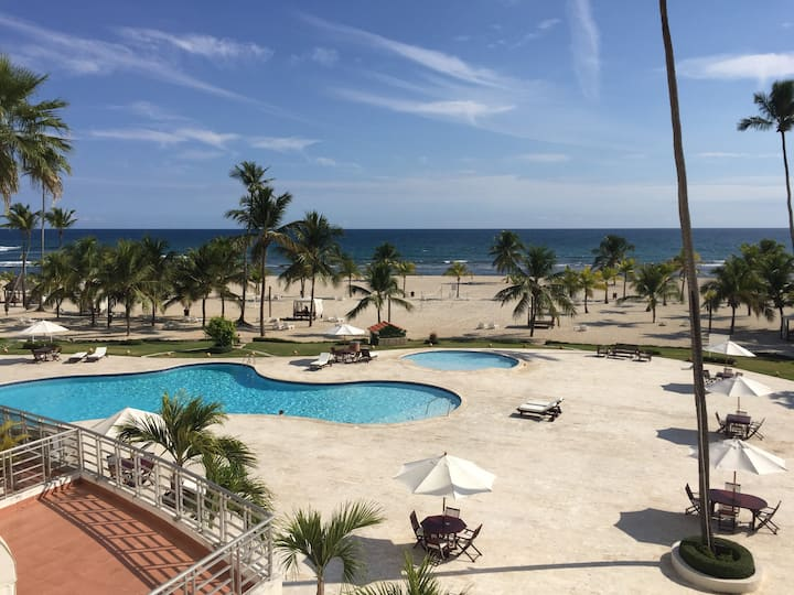 Juan Dolio Ocean Front Apartment at Costa del Sol