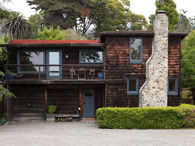 Willow Camp Estate - Carriage House - Stinson Beach - Huis