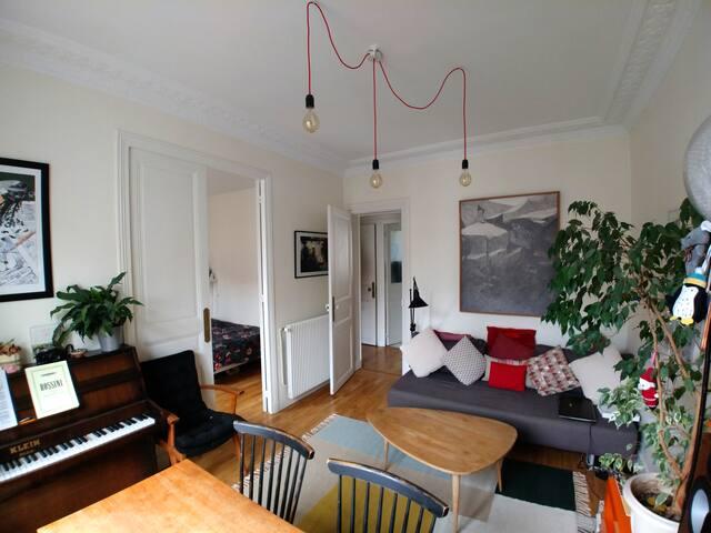 Charmant appartement haussmannien
