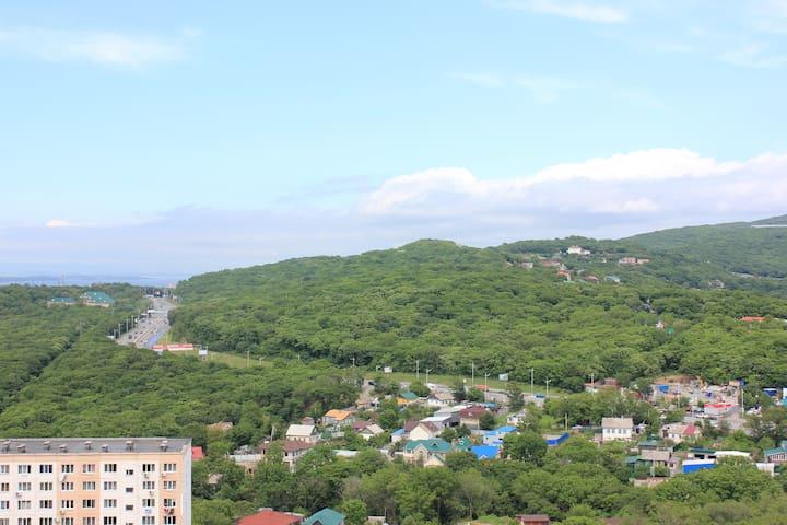 Современная двухкомнатная квартира с видом на море - Vladivostok - Flat
