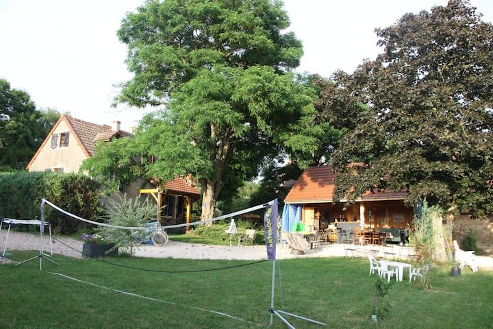 maison individuelle au centre de la Bourgogne