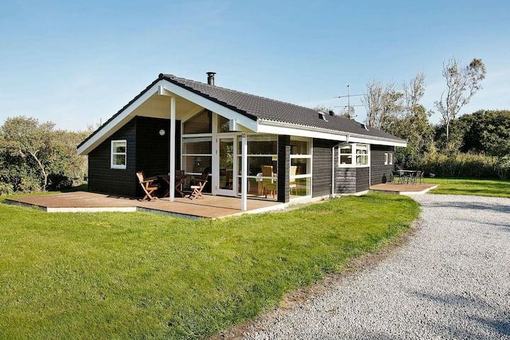 Quiet Holiday Home in Vestervig with Sauna
