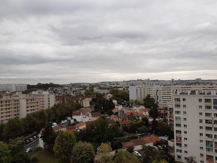 T3 à Bagneux, allée Anatole France