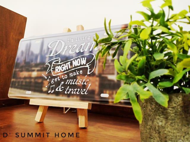 WIFI free 100mbps @ D'summit 2 Bedroom