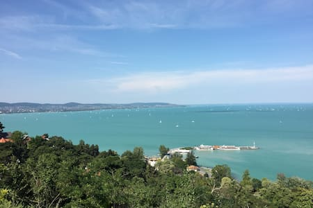3-rooms apartment with breakfast and a wiev - Balatonfüred - Wohnung