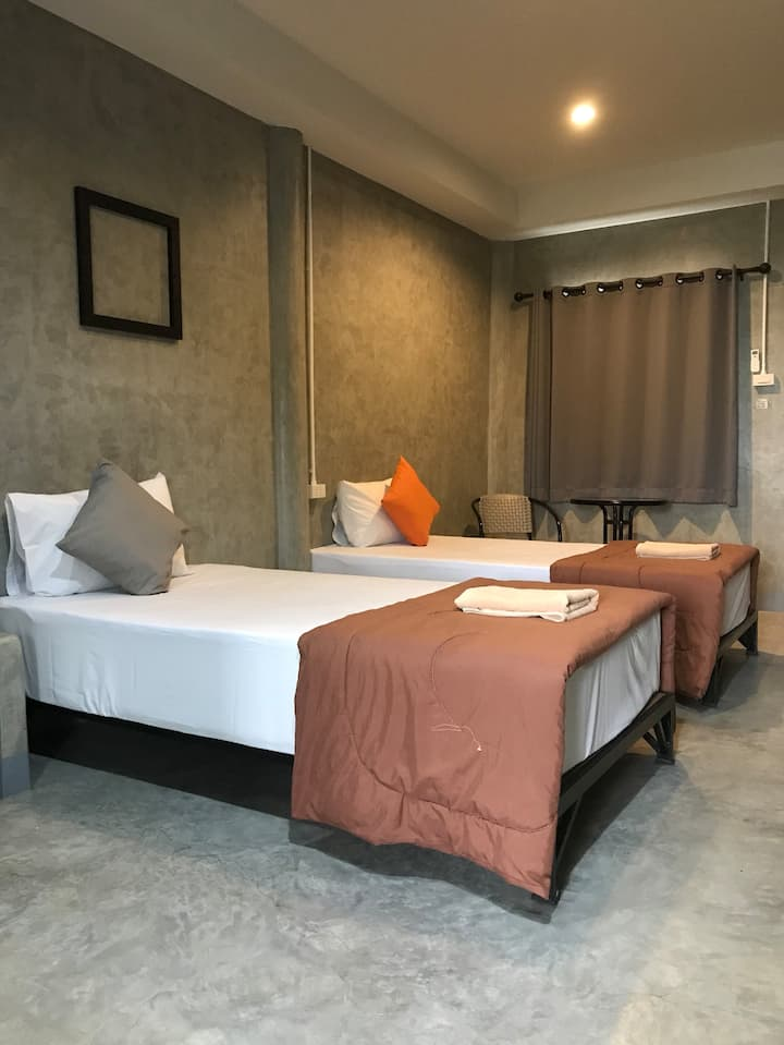 The Loft at chiangrai: Budget Twin bed R.2
