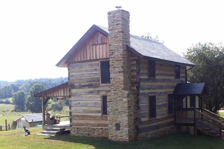 1765 Log Home in a Peaceful Setting