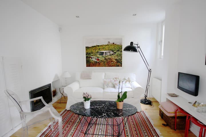 Precioso apartamento con jardín en Retiro