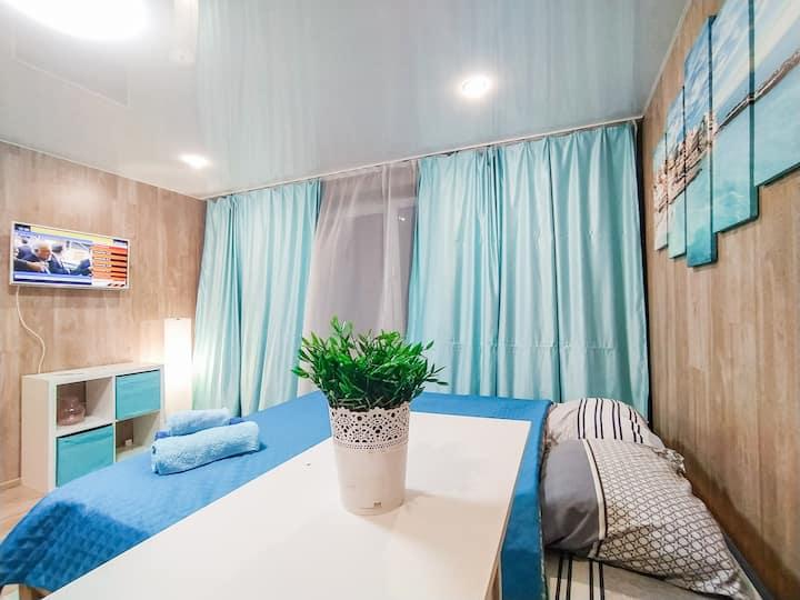 Шикарные апартаменты в 15 мин от DME для 4х гостей