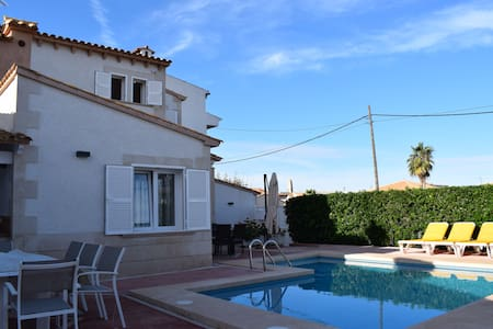 Villa with pool in Colònia de Sant Pere - Colonia de Sant Pere - 別荘