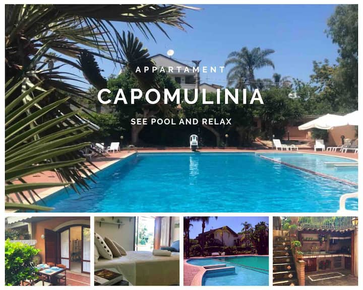 Capomulinia: sea, pool and relax