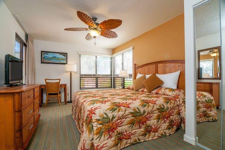 Legendary Hospitality on Kauai's East Side - 2BR