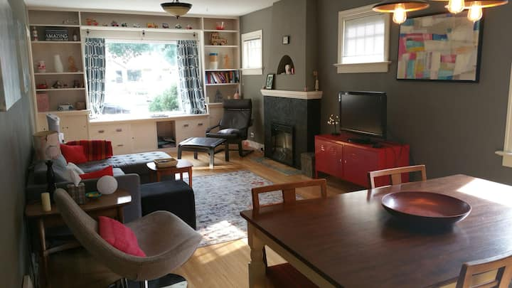 Room in small cozy renovated character home