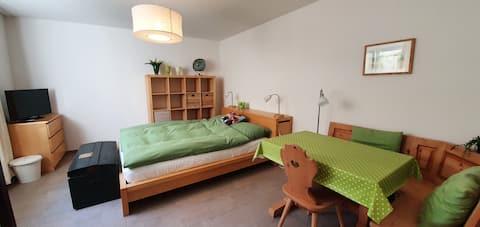 "Hideaway ""Studio"" direkt an der Aare in Wolfwil"