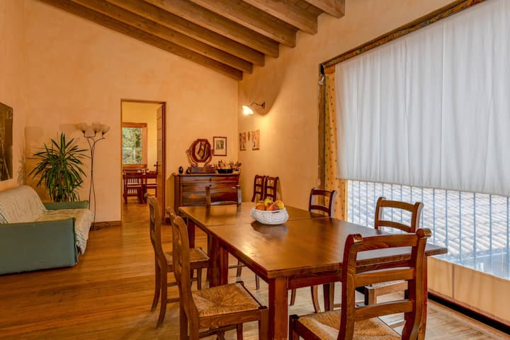 Comfortable Apartment Vittorio in Agriturismo Colleincanto with Wi-Fi, Terrace, Garden & Pool; Parking Available, Pets Allowed