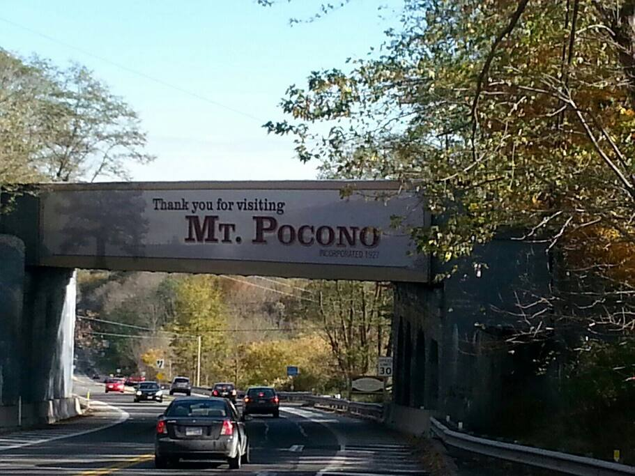 Entry to Mount Pocono