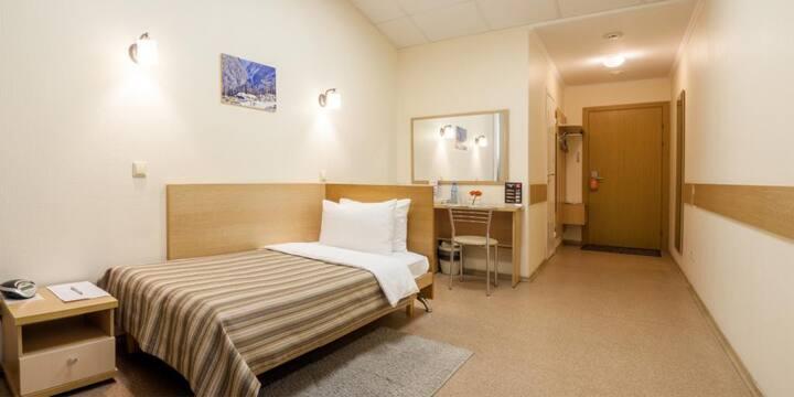 Стандартный одноместный номер в Comfort Nsk Hotel