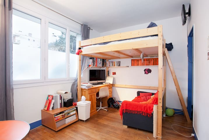 Studio confortable à 8min de Paris