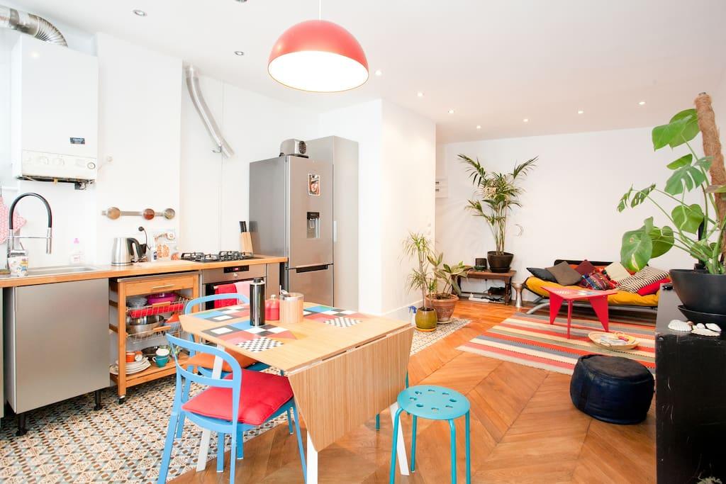 Nice apartment paris montparnasse apartments for rent in paris le de fr - Airbnb paris montparnasse ...