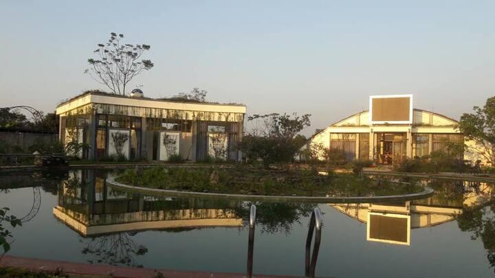 Bavi Rose Farm 7BR villa garden view